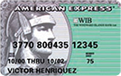 WIB American Express (Green) Card