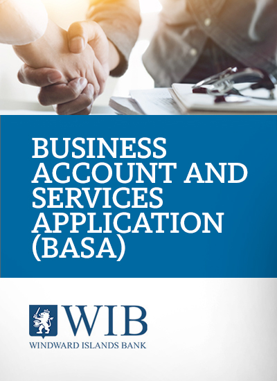 Business Account and Services Application (BASA)